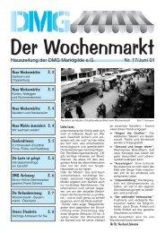 Der Wochenmarkt Nr. 17/Juni´01 - eckpunkt