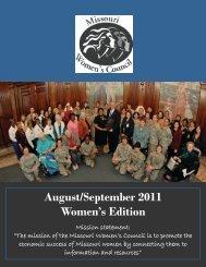 September 2010 Women's Edition August/September 2011 ...