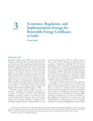 Economics, Regulation, and Implementation Strategy for ... - IDFC