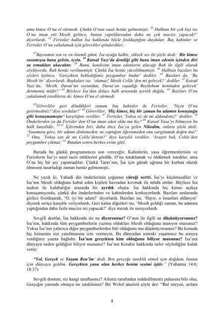 Doğruluk Yolu: Ders 73 (The Way of ... - Muhammadanism