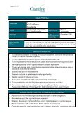 Activities co-ordinator role profile - Page 2