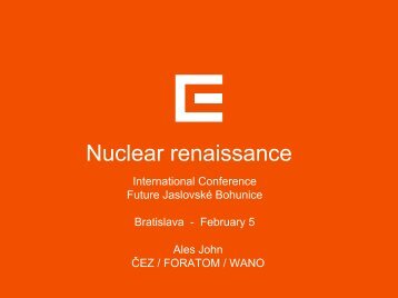 Nuclear renaissance in