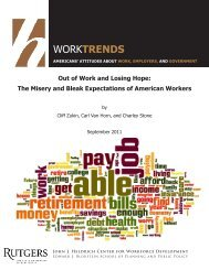 Out of Work and Losing Hope - John J. Heldrich Center for ...