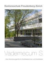 Hauptgebäude Geschoss D - Kantonsschule Freudenberg