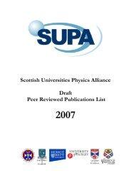 2007 - SUPA