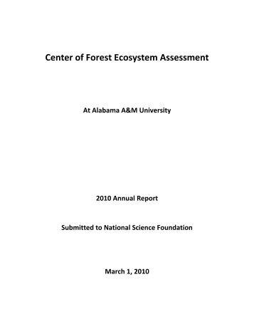 2010 CREST Annual Report - Alabama A&M University