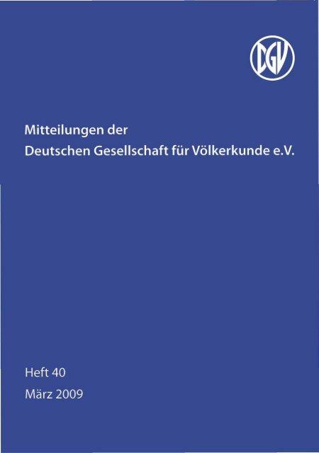 Untitled - Deutsche Gesellschaft für Völkerkunde
