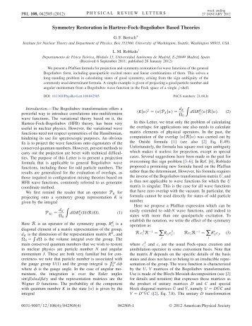 Symmetry Restoration in Hartree-Fock-Bogoliubov Based Theories