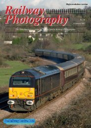 Railway Photography - The Railway Centre.Com