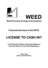 LICENSE TO CASH IN? - Weed