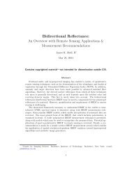 Bidirectional Reflectance - Division of Geological and Planetary ...