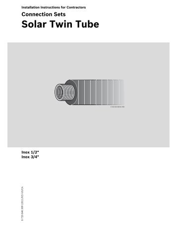 Solar Twin Tube - Buderus