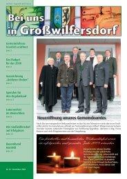 DANKE! ISTE für die Neuanschaffung der Orgel! - Großwilfersdorf
