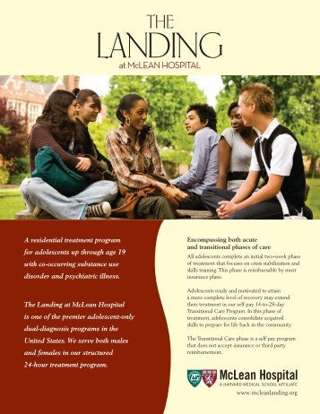 Download The Landing Program Overview - McLean Hospital