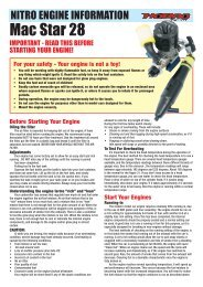 HoBao Mac Star 28 Engine Information - CML Distribution