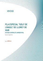 """pla especial """"golf de l'àngel"""" - Ajuntament de Lloret de Mar"""