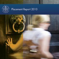 Placement Report 2010