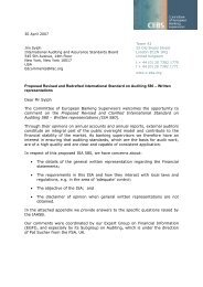 Proposed Revised and Redrafted International Standard on Auditing ...