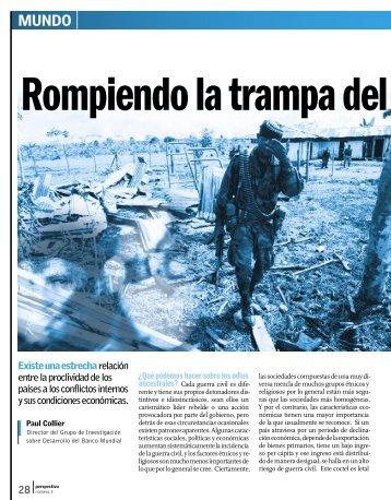 Rompiendo la trampa del conflicto - Revista Perspectiva