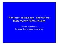 Planetary seismology: inspirations from recent Earth studies