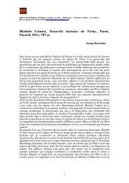 Michèle Cointet, Nouvelle histoire de Vichy, Paris, Fayard, 2011, 797 p