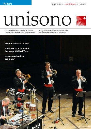 Maestro - Schweizer Blasmusikverband