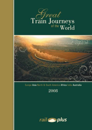 Train Journeys - Rail Plus