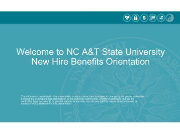 New EPA Employee Benefits Presentation - North Carolina A&T ...
