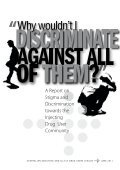 Why wouldn't I discriminate against all of them? A Report on ... - AIVL - Page 2