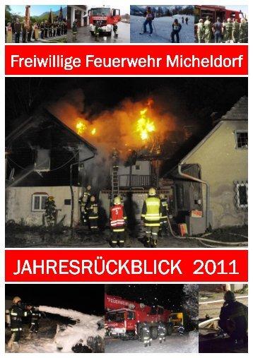 Jahresbericht 2011 - Freiwillige Feuerwehr Micheldorf in OÖ