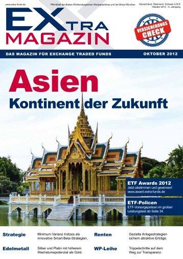 kontinent der zukunft - EXtra-Magazin