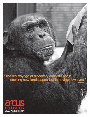 Download the report - Arcus Foundation