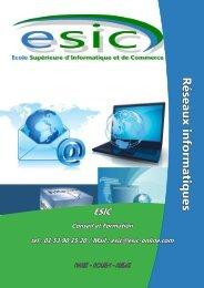 Réseaux - Groupe ESIC