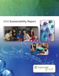 2010 Sustainability Report - Thecorporatelibrary.net