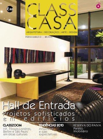 Hall de Entrada - Santos & Santos Arquitetura