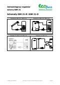Jednoobiegowy regulator solarny ESR 21_EcoJura - Page 2