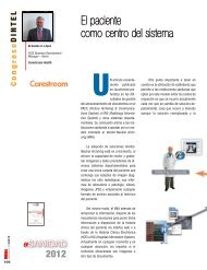 El paciente como centro del sistema