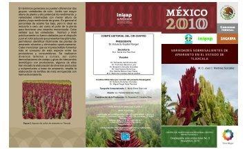variedades sobresalientes de amaranto en el estado de tlaxcala