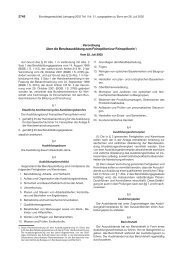 Ausbildungsordnung - BiBB