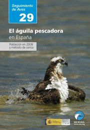 El águila pescadora en España - SEO/BirdLife