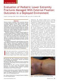 Evaluation of Pediatric Lower Extremity Fractures Managed ... - Cutis