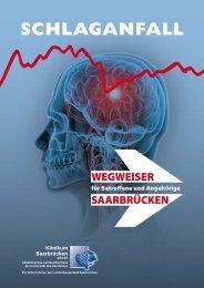 Broschüre: Schlaganfall - Klinikum Saarbrücken