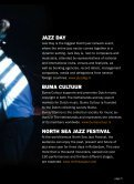 YOUR GUIDE TO DUTCH JAZZ AT NORTH SEA - Buma Cultuur - Page 5