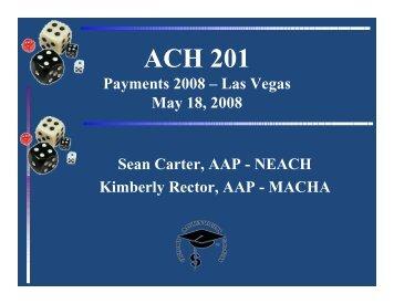 ACH 201