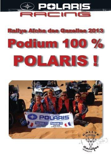 Podium 100 % - Club Polaris France