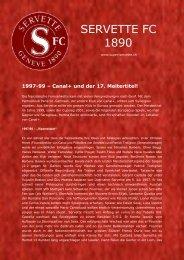 Canal+ und der 17. Meitertitel! - Super Servette