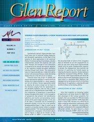 spERMiNE phOsphORaMiditE: a pOtENt MOdiFiCatiON with MaNy ...