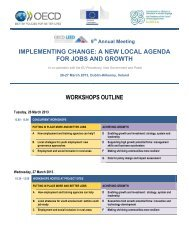 9th Annual Meeting Workshop Outline - Pobal