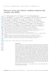 Discovery of two new Galactic candidate luminous blue variables ...