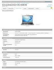 Samsung Notebook Serie 5 Ultra 530U4E S02 - Icecat.biz